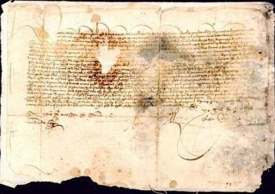 Documento de Archivo Histórico