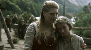 Lagertha y Gyda