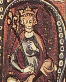 Canuto el Grande - Rey de Dinamarca e Inglaterra.
