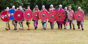 Escudos vikingos (Jorvik Vikingr)