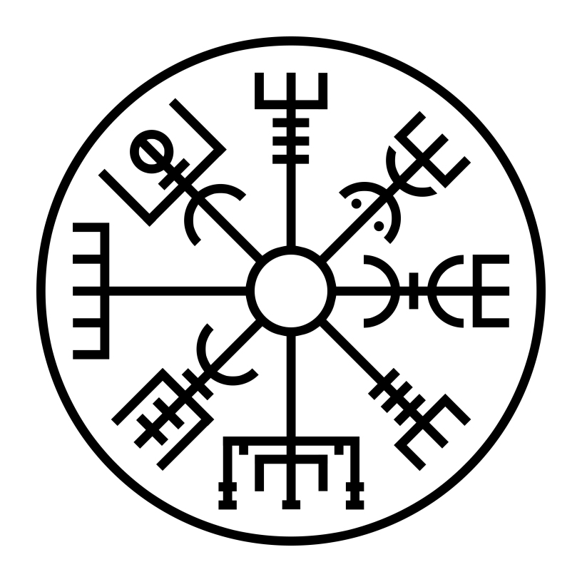 Meginnjörð (Objeto de lotería) Vegvisir