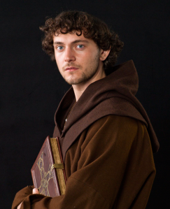 Athelstan, interpretado en la serie por el actor George Blagden.