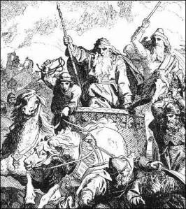 PERSONAJES REALES Harald-hildetand-por-lorenz-frc3b8lich-siglo-xix