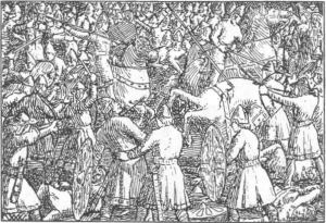 PERSONAJES REALES Harald-muere-de-un-flechazo-en-la-batalla
