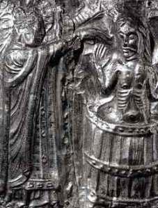 Harald bautizado por Poppo el monje, año 970.