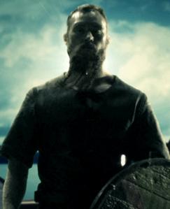 Knut en la serie, interpretado por Eric Higgins.