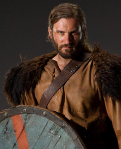 Rollo en la serie Vikings. Interpretado por el actor Clive Standen.