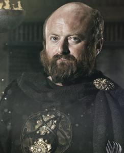 Svein en la serie, interpretado por el actor David Pearse.