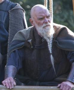 Tostig en la serie, interpretado por Angus MacInnes .