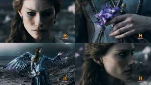 Aslaug como Freyja.