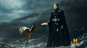 Rey Egberto de Wessex como Baldr.