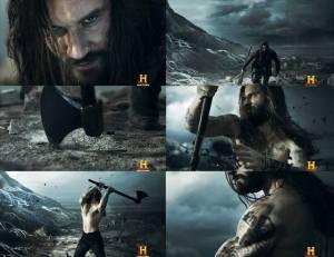 Rollo como Fenrir.