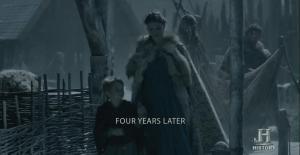 4 años después. Aslaug y Ubbe.