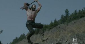Rollo en modo vikingo ninja.