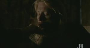 El jarl Borg con el ocráculo.