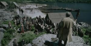 Asamblea de gobierno vikinga o Thing.
