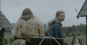 Lagertha marchándose y solicitándole el divorcio a Ragnar.