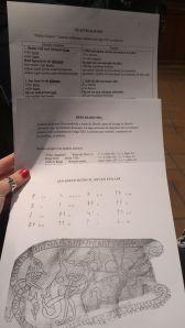 Material para el Taller de Introducción al Nóridico Antiguo y el Alfabeto Rúnico.