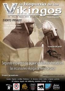 Cartel Evento la Hispania de los Vikingos (II Edición)