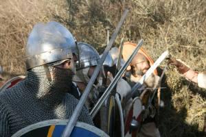 La batalla de la Hispania de los Vikingos.