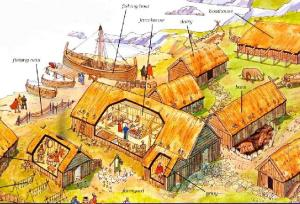 Otra posibilidad de granja vikinga.