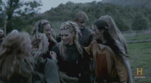 Kattegat encantadp con el regreso de Lagertha.