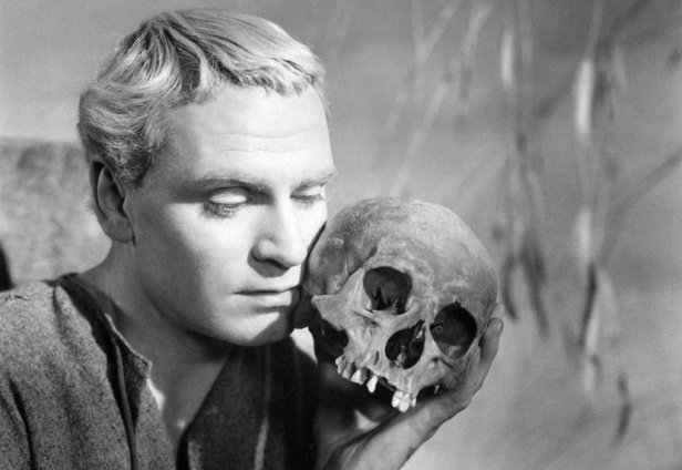 Laurence Olivier, Hamlet, 1948.