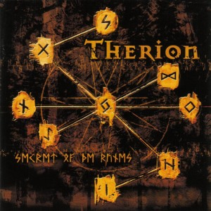 "Portada del álbum de Therion ""Secret of the Runes""."