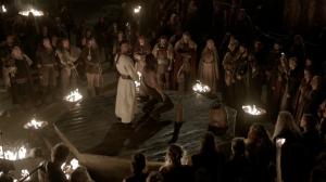 Ceremonia Águila de Sangre.