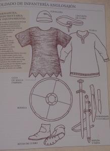 Infantería anglosajona.