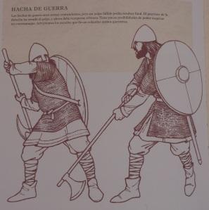 Infantería vikinga.