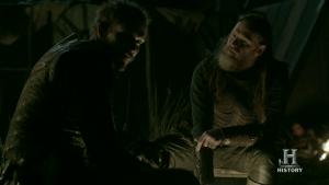 Horik y Floki tramando contra Ragnar.