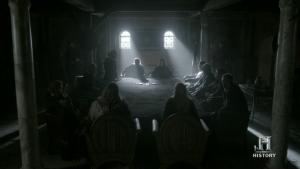 Reunión entre Egberto de Wessex y los vikingos.