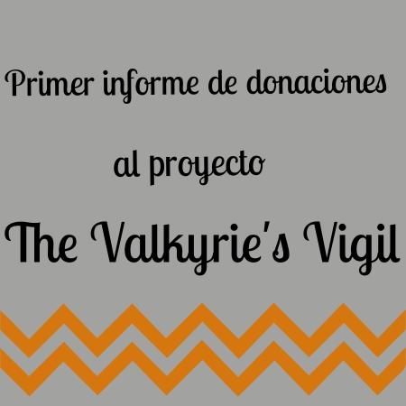 Primer Informe de Donaciones