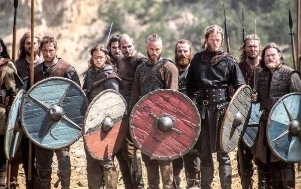 Otro de los escudos usados por Ragnar Lodbrok en la serie Vikings.