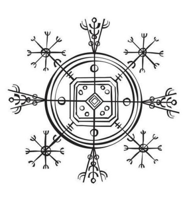 Simbología Vikinga V Hulinhjálmur The Valkyries Vigil