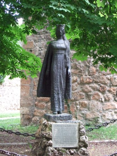 Etatua de Kristina de Noruega o Kristina Håkonsdatter