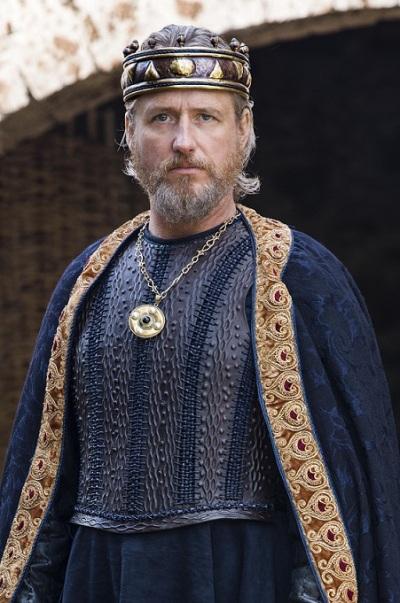 Egberto de Wessex, interpretado por Linus Roache