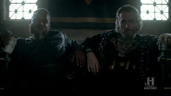 Ragnar y Egberto, la pareja ideal.