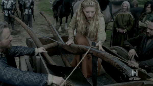 Lagertha y el arado.