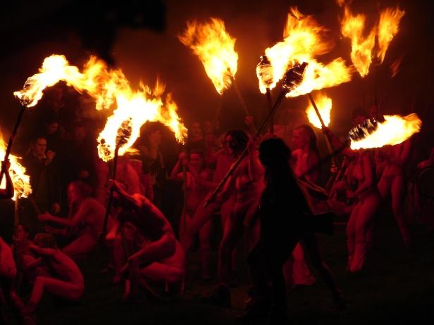 Beltane Fire Fest, Calton Hill (Edimburgo – Escocia), 2006.