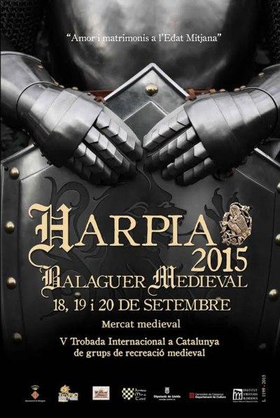 Cartel Harpia 2015: Balaguer Medieval
