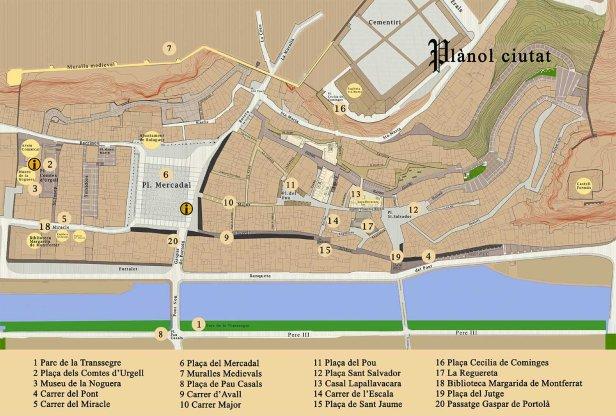 Harpia 2015: Balaguer Medieval. Plano.