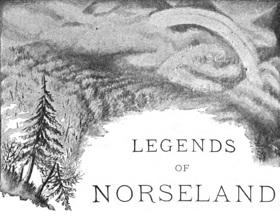 Legends of Norseland. Portada.